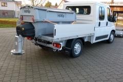 winterdienstfahrzeug fiat ducato Hilltip IceStriker 850