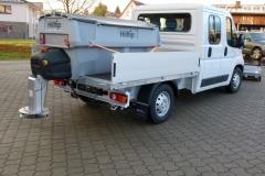 winterdienstfahrzeug fiat ducato Hilltip Streusystem IceStriker 850
