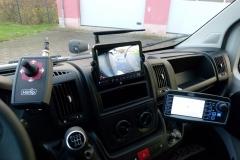 winterdienstfahrzeug fiat ducato Cockpit