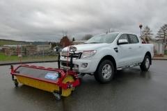 Hilltip Kehrwalze Ford Ranger