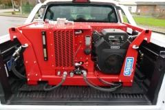Winterdienstfahrzeug Ford Ranger Hilltip Hydraulikaggregat HPU 18