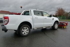 Winterdienstfahrzeug Ford Ranger Kehrwalze Hydraulik