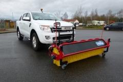 Hilltip Sweeper Kehrwalze Ford Ranger