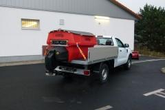 Winterdienst Ford Ranger Schneeplfug Salzstreuer Hesse Winterdiensttechnik