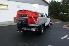 Ford Ranger Winterdienst Pritsche Streusystem IceStriker 550