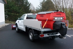 Winterdienstfahrzeuge Ford Ranger Salzstreuer Schneepflug