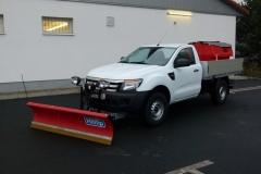 Ford Ranger Einzelkabine Kipper Winterdienstfahrzeug