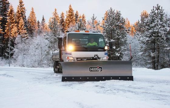 Hilltip SnowStriker SML – Schneepflug  für LKW