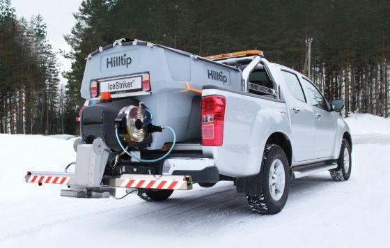 Hilltip IceStriker – Kombi Streu-Sprühsystem