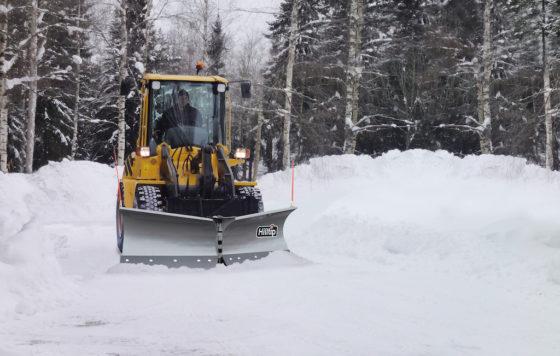 Hilltip SnowStriker VTR – V Schneepflug für Traktoren