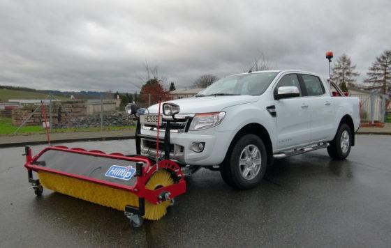 Hilltip SweepAway – Kehrmaschine